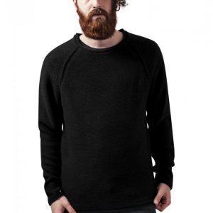 Pulover casual Raglan cu guler rotund negru Urban Classics - Bluze cu guler rotund - Urban Classics>Barbati>Bluze cu guler rotund