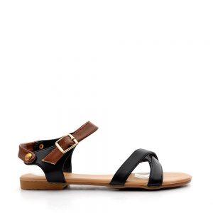 Sandale copii Miranda negre - IMPORT - Reduceri explozive