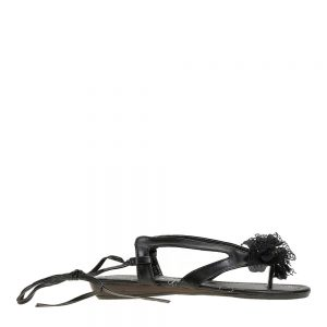 Sandale negre dama - Promotii - Lichidare Stoc