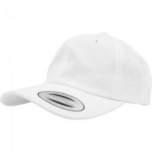 Sepci Low Profile Cotton Twill alb Flexfit - Flexfit - Flexfit