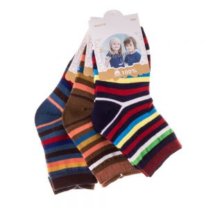 Set 3 perechi sosete copii E5001-1 multicolore - Aксесоари - Aксесоари Детски