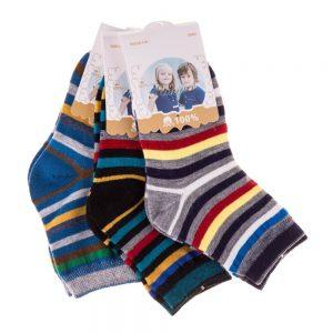 Set 3 perechi sosete copii E5001-2 multicolore - Aксесоари - Aксесоари Детски