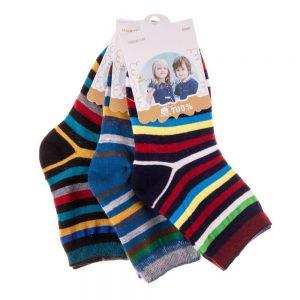 Set 3 perechi sosete copii E5001-3 multicolore - Aксесоари - Aксесоари Детски