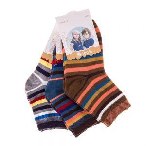 Set 3 perechi sosete copii E5001-4 multicolore - Aксесоари - Aксесоари Детски