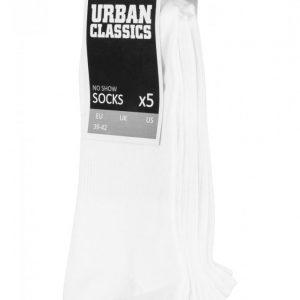 Set Sosete No Show 5- alb Urban Classics - Lenjerie - Urban Classics>Accesorii>Lenjerie