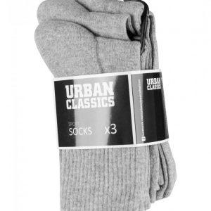 Set Sosete Sport 3- gri Urban Classics - Lenjerie - Urban Classics>Accesorii>Lenjerie