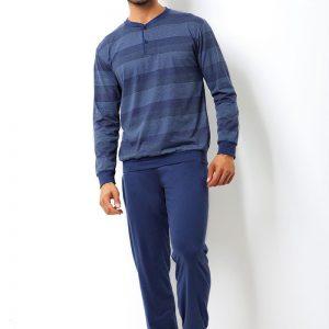 Set barbatesc Giovanni din bumbac - bluza pantalon - Promotii - Promotiile saptamanii