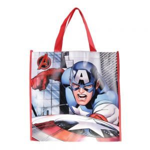 Shopping bag Captain America albastra - Aксесоари - Aксесоари Детски