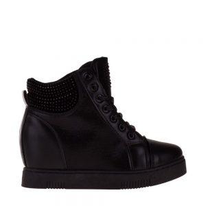 Sneakers dama Amya negru - Incaltaminte Dama - Sneakers Dama