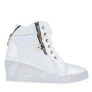 Sneakers dama Bonilla alb - Incaltaminte Dama - Sneakers Dama