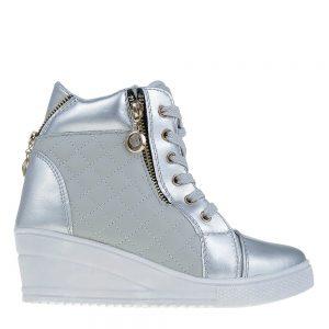 Sneakers dama Bonilla gri - Incaltaminte Dama - Sneakers Dama