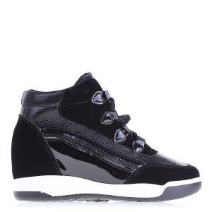 Sneakers dama Cosmina negru - Incaltaminte Dama - Sneakers Dama