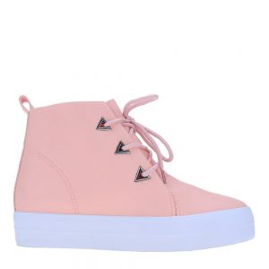 Sneakers dama Daphne roz - Incaltaminte Dama - Sneakers Dama