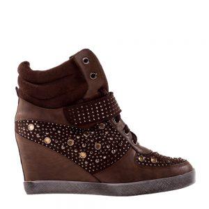 Sneakers dama Drew maro - Incaltaminte Dama - Sneakers Dama