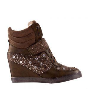 Sneakers dama Drew verde - Incaltaminte Dama - Sneakers Dama