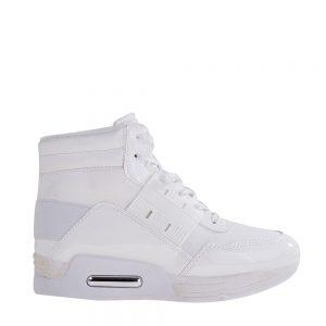 Sneakers dama Glendora albi - Incaltaminte Dama - Sneakers Dama