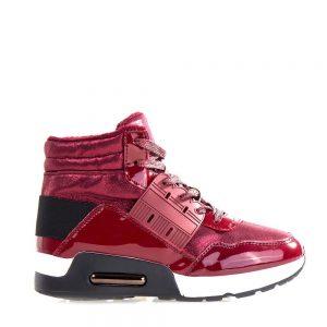 Sneakers dama Glendora grena - Incaltaminte Dama - Sneakers Dama