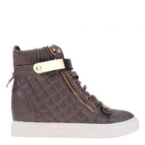 Sneakers dama Jeans gri - Incaltaminte Dama - Sneakers Dama