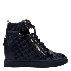 Sneakers dama Jeans negru - Incaltaminte Dama - Sneakers Dama