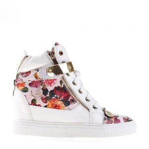 Sneakers dama Jude roz - Incaltaminte Dama - Sneakers Dama
