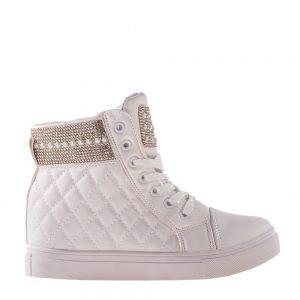 Sneakers dama Kibbe alb - Incaltaminte Dama - Sneakers Dama