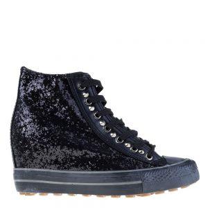 Sneakers dama Lori negru - Incaltaminte Dama - Sneakers Dama
