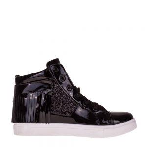 Sneakers dama Lucia negru - Incaltaminte Dama - Sneakers Dama