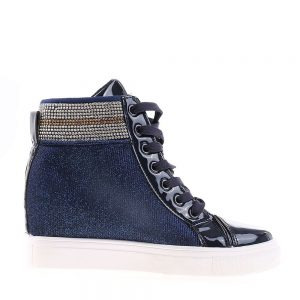 Sneakers dama Melania albastru - Incaltaminte Dama - Sneakers Dama
