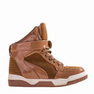 Sneakers dama Mirabel khaki - Promotii - Black Friday