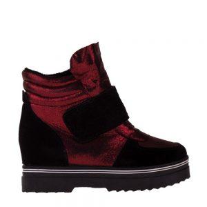 Sneakers dama Oaks grena - Incaltaminte Dama - Sneakers Dama