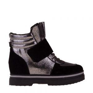 Sneakers dama Oaks negru - Incaltaminte Dama - Sneakers Dama