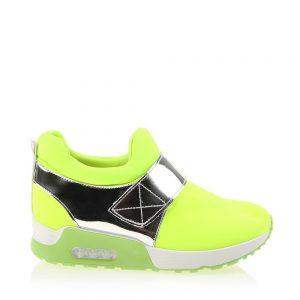 Sneakers dama Sadie verde - Incaltaminte Dama - Sneakers Dama