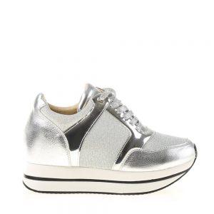 Sneakers dama Senaida argintiu - Incaltaminte Dama - Sneakers Dama
