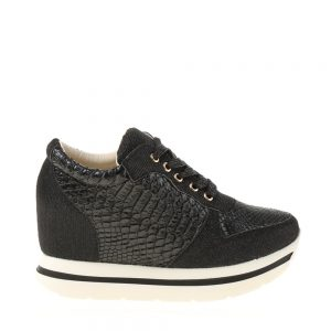 Sneakers dama Sierra negru - Incaltaminte Dama - Sneakers Dama