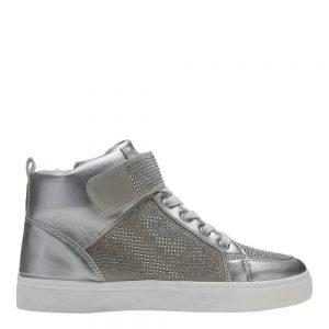 Sneakers dama Vicky argintiu - Incaltaminte Dama - Sneakers Dama