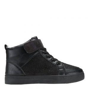Sneakers dama Vicky negru - Incaltaminte Dama - Sneakers Dama
