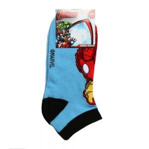 Sosete copii AVENGERS - Iron Man bleu cu negru - Aксесоари - Aксесоари Детски