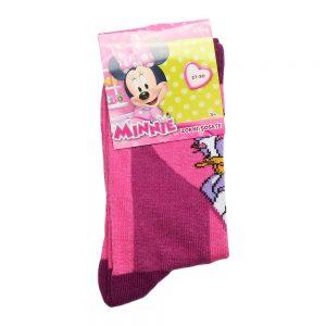 Sosete copii Daisy Duck roz cu mov - Aксесоари - Aксесоари Детски
