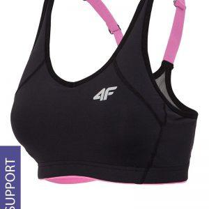 Sutien sport 4F Black - Lenjerie pentru femei - Sutiene si topuri