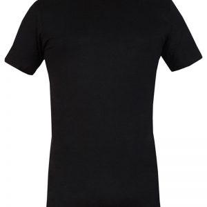 Tricou barbatesc 090 negru din bumbac - Lenjerie pentru barbati - Tricouri  maiouri