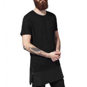 Tricou lung cu buzunar piele ecologica - Tricouri lungi - Urban Classics>Barbati>Tricouri lungi