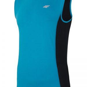Tricou sport barbatesc 4f Blue fara maneci - Haine si accesorii - Tricouri  maiouri