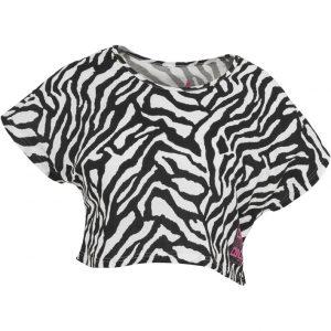 Tricouri cu maneca scurta bumbac si imprimeu zebra - Urban Dance - Urban Dance