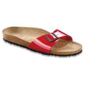 Birkenstock - Papuci Madrid Tango Red - Încălţăminte - Papuci şi sandale