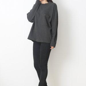 Bluza COS Oversized Grey - FEMEI - PULOVERE DAMA