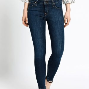 Lee - Jeansi Scarlett Cropped Stone Rinse - Îmbrăcăminte - Jeans