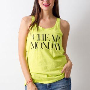 Maieu Cheap Monday Lime - FEMEI - TRICOURI DE DAMA