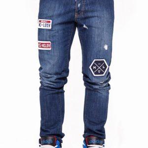 Milov - Jeanși Bow Down - Îmbrăcăminte - Jeans