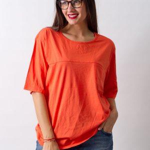 Tricou Cheap Monday Orange - FEMEI - TRICOURI DE DAMA