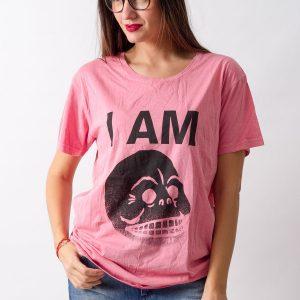 Tricou Cheap Monday Pink - FEMEI - TRICOURI DE DAMA